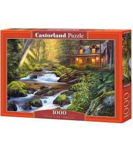 Пазл - Дом в лесу (Castorland) 1000 эл.