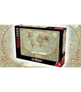 Пазл - Карта світу (Anatolian) 450 ел. 3935