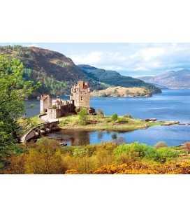 Пазл - Замок Еліен Донан, Шотландія