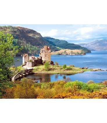 Пазл - Замок Элиен Донан, Шотландия