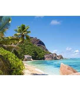 Пазл - Тропічний пляж, Сейшельські острови(Castorland) 3000 ел.