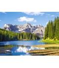 Пазл - Озеро Мізуріна, Італія 3000 ел