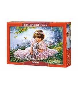 Пазл - Щенячья любовь (Castorland) 1000 эл.