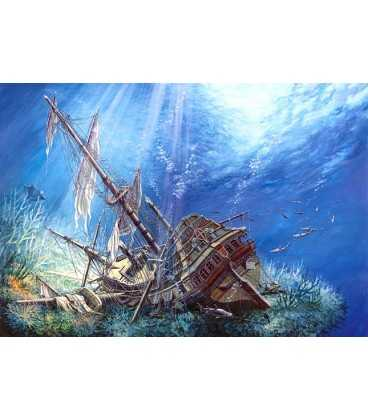 Пазл - Утонувший Галеон