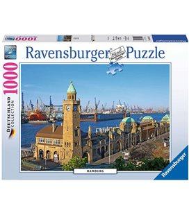 Пазл - Гамбург (Ravensburger) 1000 эл. 194575
