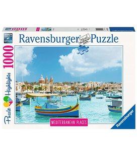 Пазл - Средиземноморская Мальта (Ravensburger) 1000 эл. 149780