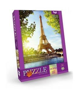 "Пазлы ""Париж: Франция"", 2000 элементов C2000-01-07"