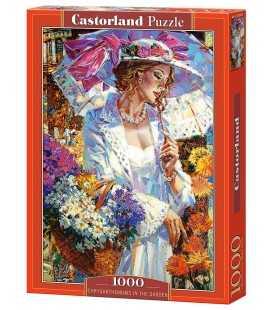 Пазл - Хризантемы в саду (Castorland) 1000 эл.