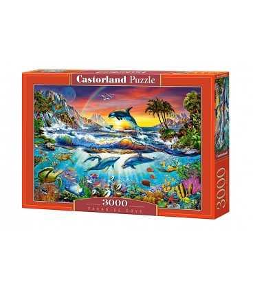 Пазл - Райская бухта (Castorland) 3000 эл.