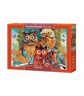 Пазл - Совы (Castorland) 2000 эл.