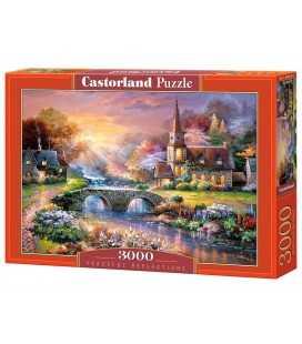 Пазл - Мирные отражения (Castorland) 3000 эл.