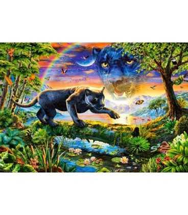 Пазл - Пантера в сумерках (Castorland) 1500 эл.