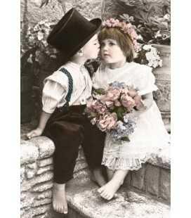 Пазл - Невинный поцелуй (Castorland) 1000 эл.