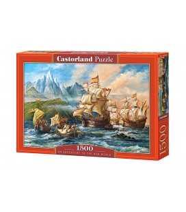 Пазл - Подорож у новий світ (Castorland) 1500 ел.
