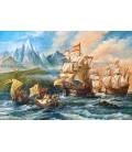 Пазл - Путешествие в новый мир (Castorland) 1500 эл.