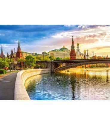 Пазл - Набережная, Москва (Castorland) 1000 эл.