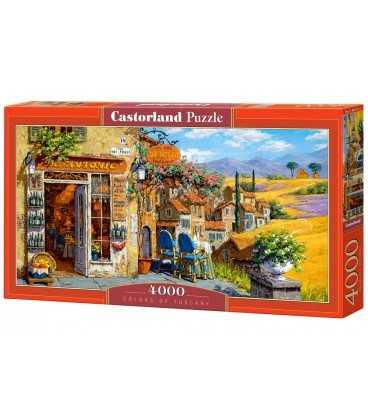 Пазл - Фарби Тоскана (Castorland) 4000 ел..