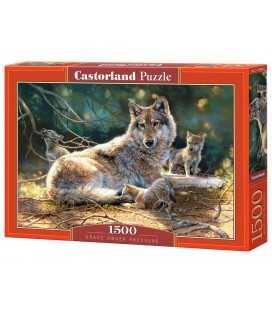 Пазл - Волки (Castorland) 1500 эл.