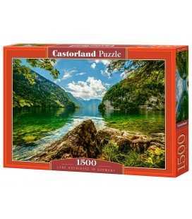 Пазл - Озеро Кенигзее в Германии (Castorland) 1500 эл.