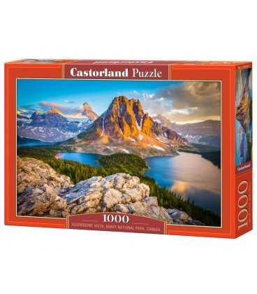 Пазл - Ассинибойн Виста, Национальный парк Банф, Канада (Castorland) 1000 эл.