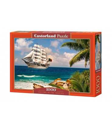 Пазл - Тропическое плаванье (Castorland) 1000 эл.
