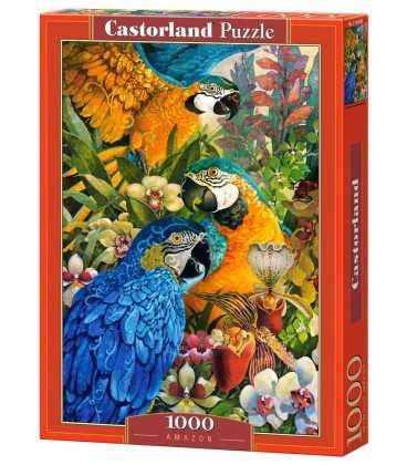 Пазл - Амазонские попугаи (Castorland) 1000 эл.