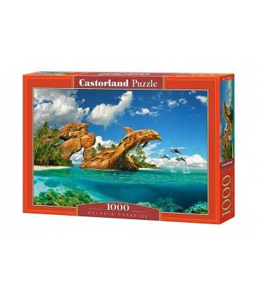 Пазл - Рай дельфинов (Castorland) 1000 эл.