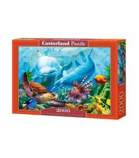Пазл - Жизнь океана (Castorland) 2000 эл.