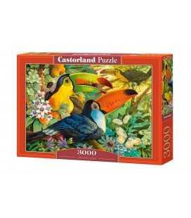 Пазл - Світ яскравих фарб (Castorland) 3000 ел.