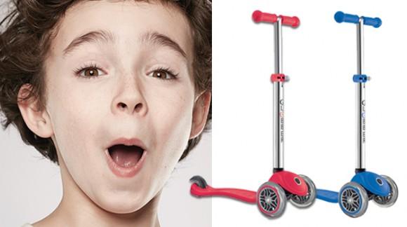 PRIMO 3: ультрамодный скутер для юного гонщика