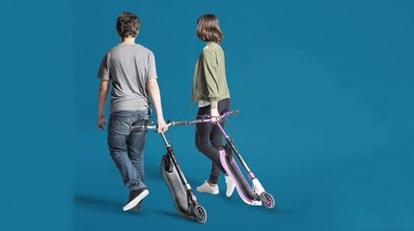ONE NL 125 & 125 DELUXE: стильные скутеры для подростков