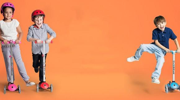 PRIMO PLUS 3: инновационная модификация лучшего детского скутера