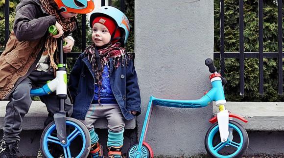 Самокаты-беговелы от бренда Scoot&Ride