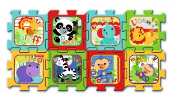 Пазлы-коврики: практичное решение для детской комнаты