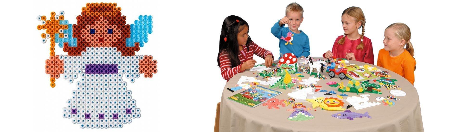 Детские наборы для творчества Hama. Купить термомозаику HAMA